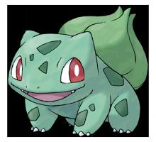 №001 Бульбазавр (Bulbasaur)