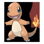 Чармандер из Pokemon GO