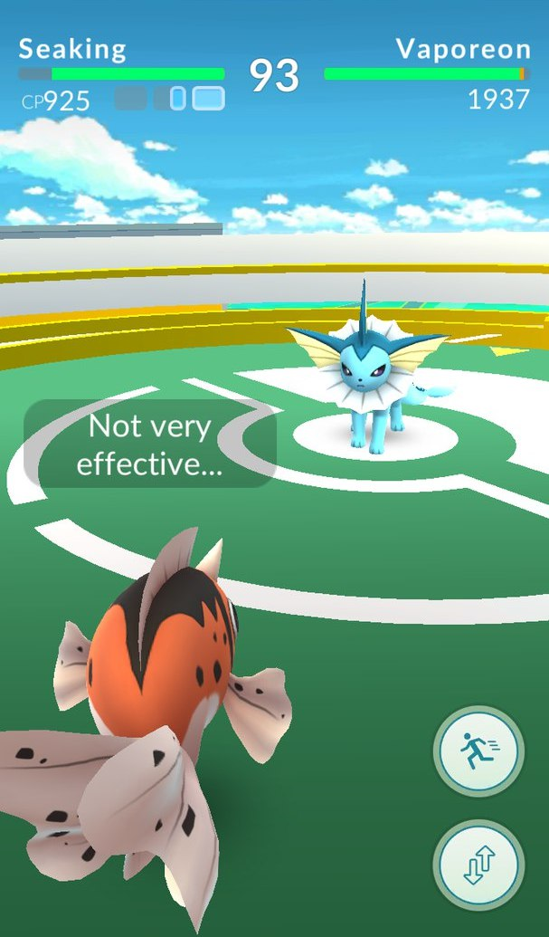 Как уклоняться в Pokemon GO?