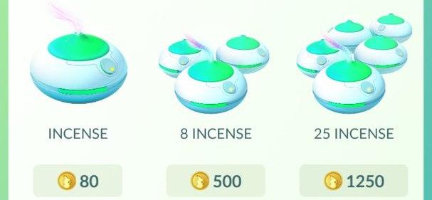 Где взять Incense в Покемон ГО?