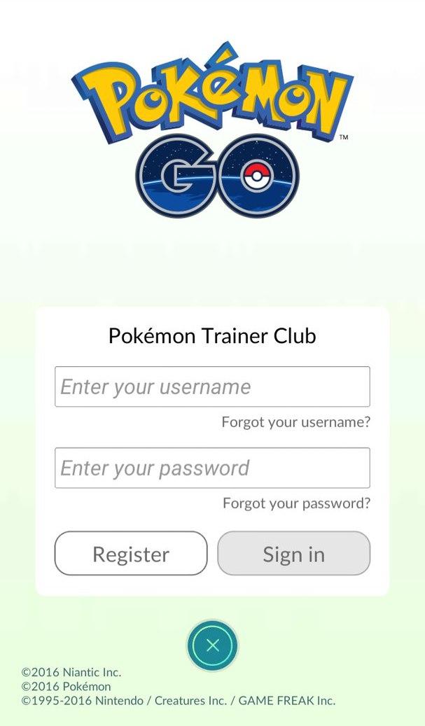 Как зарегистрироваться в Покемон ГО в качестве тренера