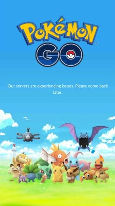 Почему Pokemon GO не подключается к серверам?