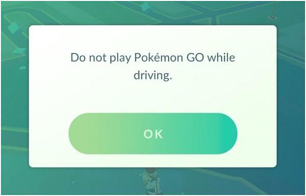 За рулем в Покемон ГО играть разработчики запрещают!