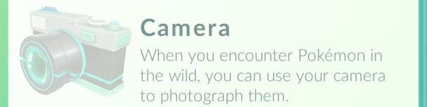 Камера в Покемон ГО