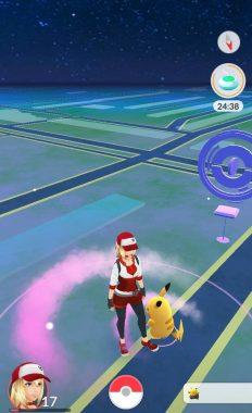 Личная приманка в игре Pokemon GO