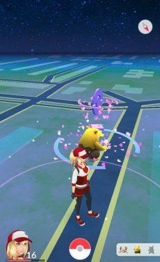 Действие приманки в игре Pokemon GO