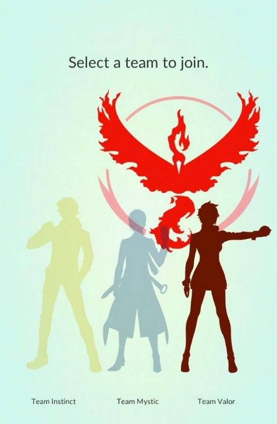 Какую команду выбрать в Покемон ГО?