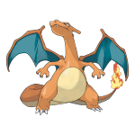 Чаризард из Pokemon GO