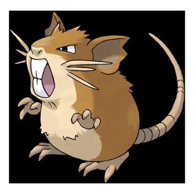 Ратикейт из Pokemon GO