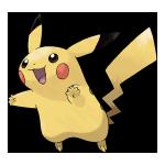 Пикачу из Pokemon GO