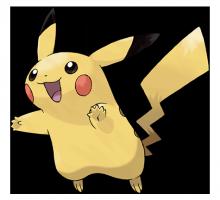 №025 Пикачу (Pikachu)
