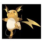 Райчу из Pokemon GO
