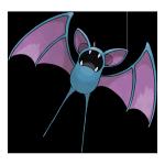 Зубат из Pokemon GO