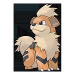 Гроулит из Pokemon GO