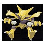 Алаказам из Pokemon GO