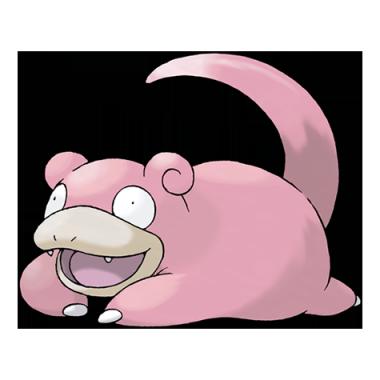 Слоупок из Pokemon GO