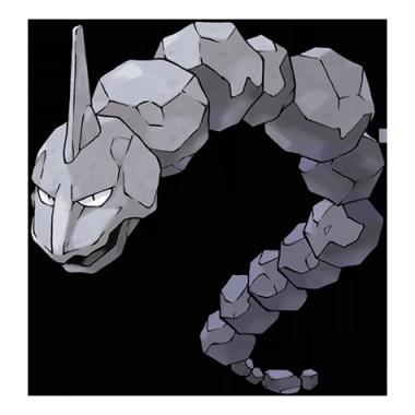 Оникс из Pokemon GO