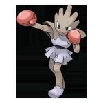 Хитмончан из Pokemon GO