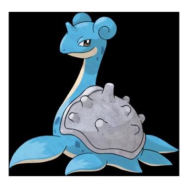 Лапрас из Pokemon GO