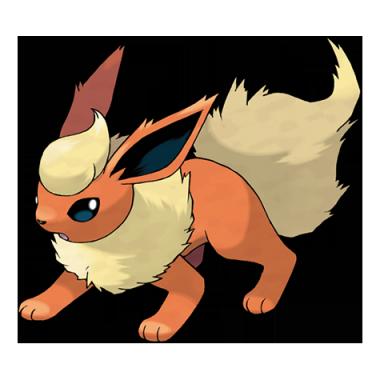 Флареон из Pokemon GO