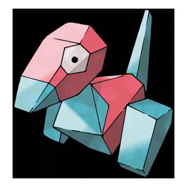 Поригон из Pokemon GO