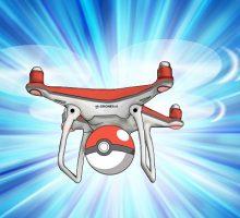 Как играть в Покемон ГО при помощи дрона?