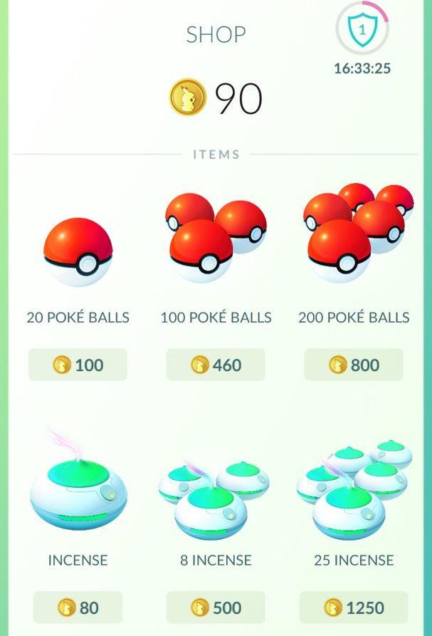 Получение прибыли в игре Pokemon GO