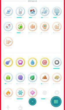 Обновление игры Покемон ГО 0.41.2 и новые медали