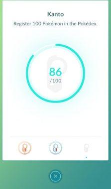 Медаль кллекционера в игре Pokemon GO