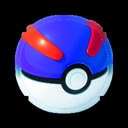 Большой покебол в Pokemon GO