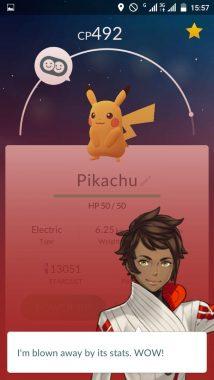 Appraise в Pokemon GO