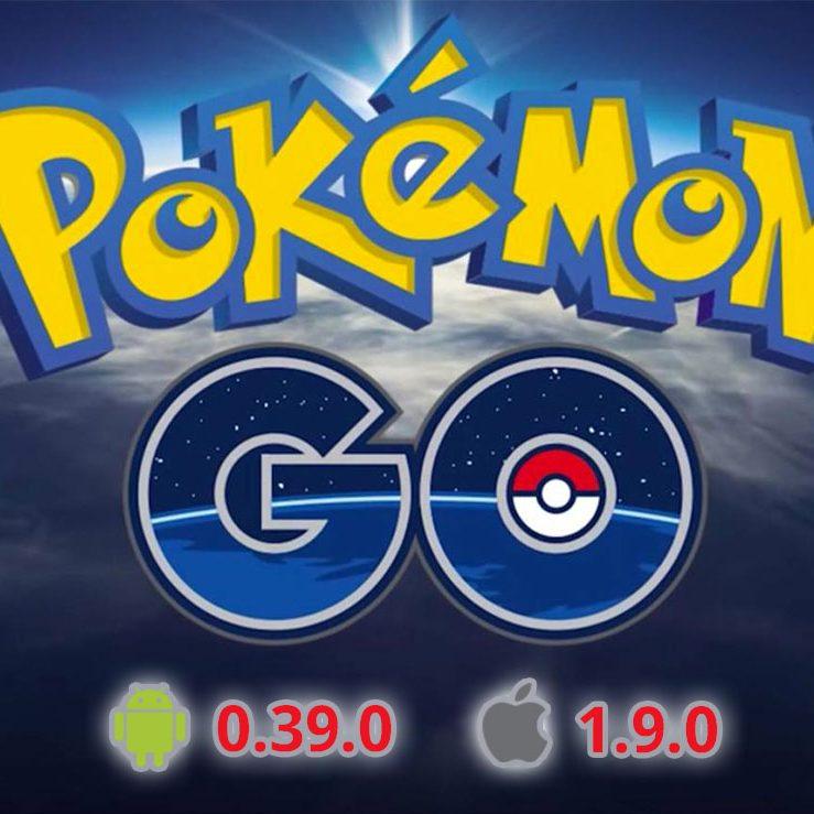 Обновления Pokemon GO 0.39 и 0.39.1