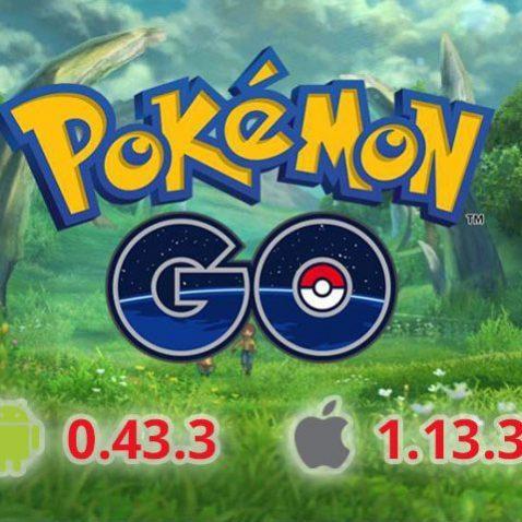 Обновление Pokemon GO 0.43.3 скачать