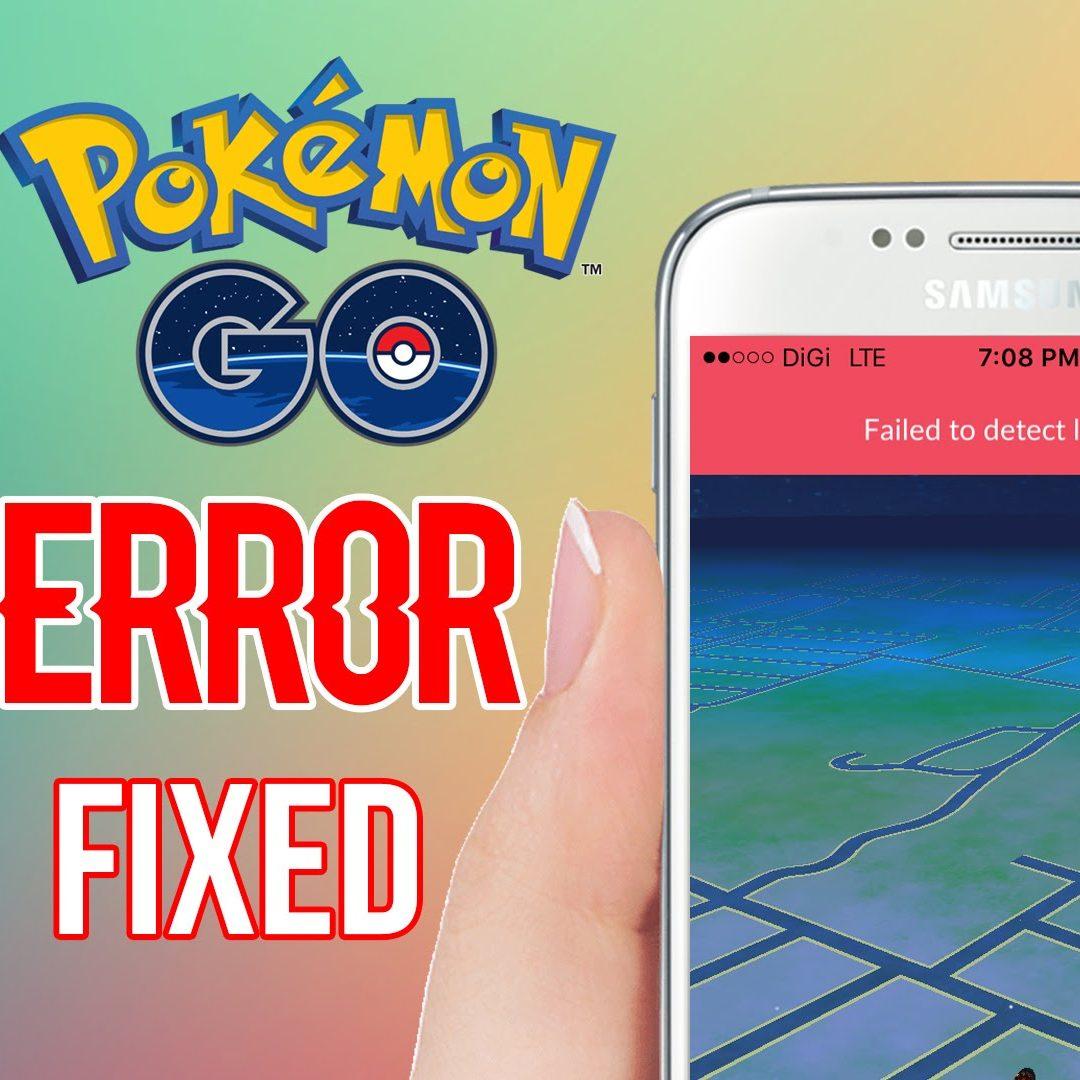 Что делать с ошибкой «Failed to detect location» в Покемон ГО?