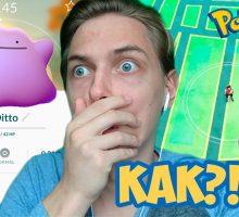 Поимка и испытание Дитто в Pokemon GO