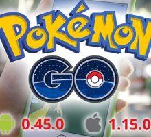 Обновление Pokemon GO 0.45.0