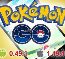 Обновления Pokemon GO 0.49.1 и 0.47.1