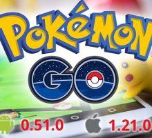 Обновления Pokemon GO 0.51.0 и 0.53.2